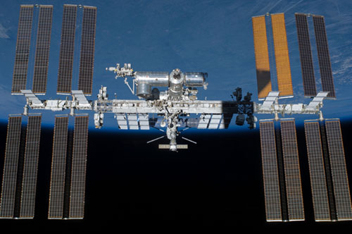 International Space Station Current Configuration. Photo Courtesty: NASA
