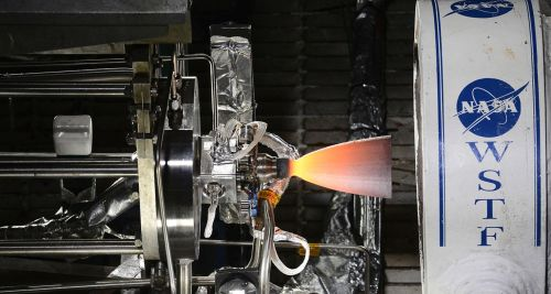 One of three Reaction Control System engines for Boeing's CST-100 Starliner recently completed hot-fire testing at NASA's White Sands Test Facility in New Mexico