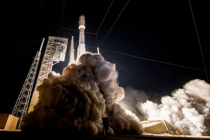 Aerojet Rocketdyne successfully supported the launch of the next-generation GOES-R for NASA and NOAA. Credit: United Launch Alliance
