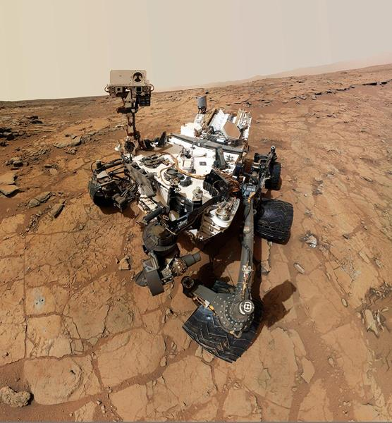 Aerojet Rocketdyne's MMRTG will power NASA's Mars 2020 rover, similar to the pictured Mars Curiosity rover which has been on the red planet since 2012. Credit: NASA