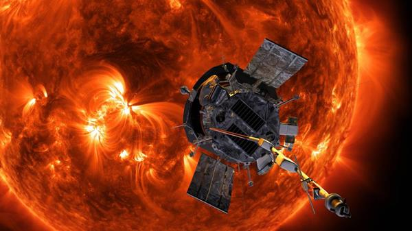 Aerojet Rocketdyne provided the full propulsion system on NASA's Parker Solar Probe, which will venture eight times closer to the Sun than the previous record holder. Credit: NASA/Johns Hopkins APL