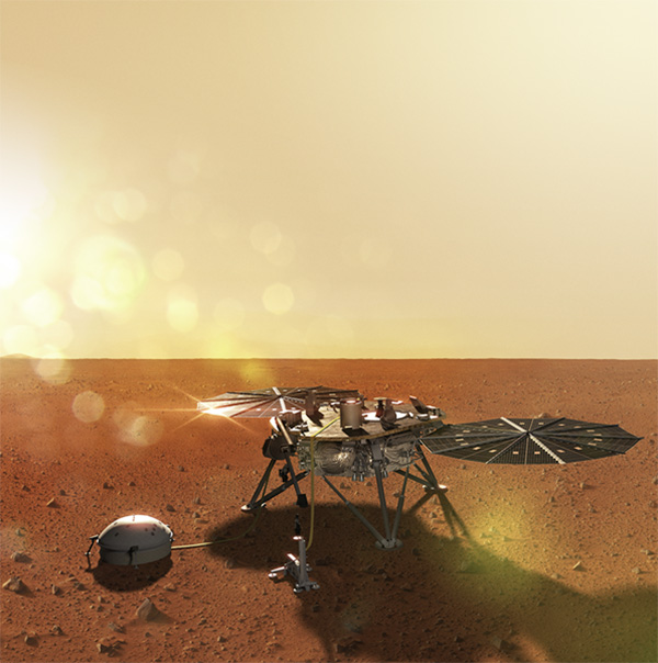 Aerojet Rocketdyne Propulsion Delivers Mars InSight to Planet's Surface