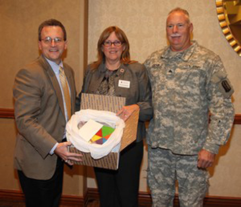 Aerojet Employees Support U.S. Troops Overseas with Care Packages and Holiday Greeting Cards
