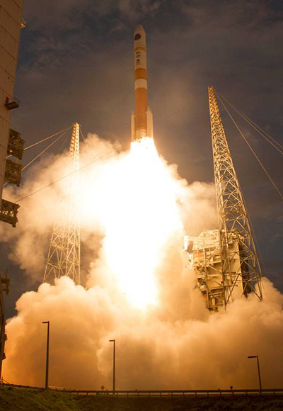 ULA Launch of Wideband Global SATCOM Spacecraft for U.S. Military