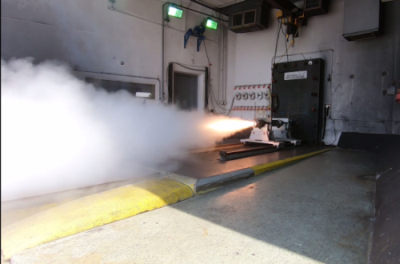 Dec. 3, 2019 - Aerojet Rocketdyne successfully completes tests of subscale OpFires propulsion system as part of a Defense Advanced Research Projects Agency (DARPA) effort to develop a ground-launched hypersonic missile for tactical use.