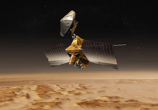 NASA's Mars Reconnaissance Orbiter arrived in Mars Orbit in 2006 and has been operational for more than fifteen years. Credit: NASA