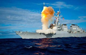 2011 - SM-3 on 19th successful at-sea test intercept from USS Hopper (DDG 70). Photo: U.S. Navy via MDA