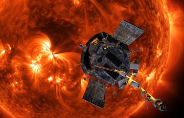 Aug. 12, 2018 - Aerojet Rocketdyne provided the full propulsion system on NASA's Parker Solar Probe, which will venture eight times closer to the Sun than the previous record holder. Credit: NASA/Johns Hopkins APL