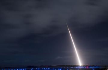 Oct. 26, 2018 - Aerojet Rocketdyne propulsion critical to the successful intercept test for SM-3 Block IIA Missile during the FTM-45 flight test, conducted by the U.S. Navy and Missile Defense Agency. View 3. Credit: MDA