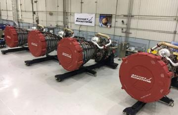 June 28, 2019 - Aerojet Rocketdyne delivered four RS-25 engines for integration with NASA's Space Launch System core stage from its facility at NASA's Stennis Space Center to NASA's Michoud Assembly Facility