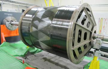 Dec 04,2019 - An example of the type of large solid motor carbon fiber case Aerojet Rocketdyne will produce at its new Huntsville, Alabama, Advanced Manufacturing Facility starting in early 2020