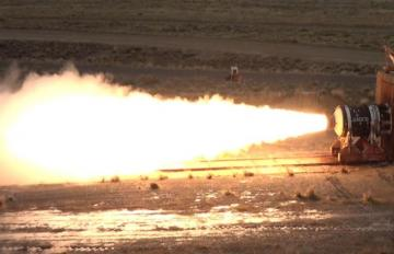 Aerojet Rocketdyne's successful test of its Missile Components Advanced Technologies Demonstration Motor - May 12, 2020