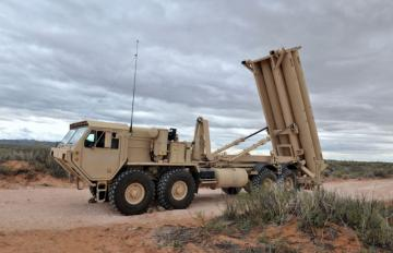 THAAD launcher, October 21, 2009. Credit: MDA