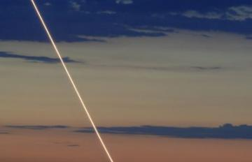 July 12, 2006-A successful launch of a THAAD interceptor missile. Primary test objective: to demonstrate interceptor seeker characterization of a ballistic missile target in the high-endoatmosphere (inside the earth's atmosphere). Credit: MDA