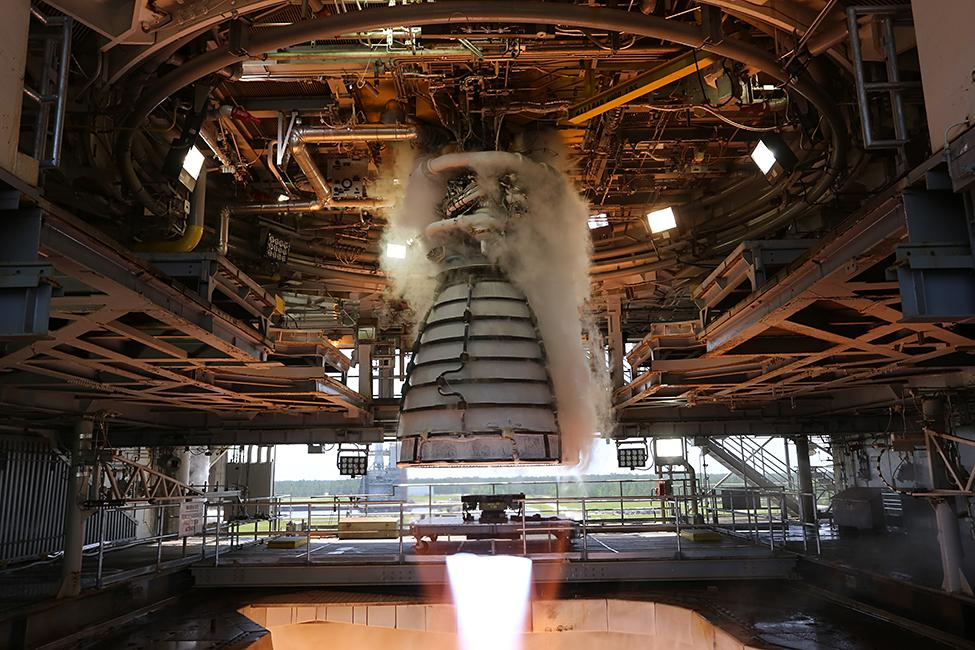 July 2, 2018 - AR-22 Engine Firing on July 2,2018 at NASA Stennis Space Center
