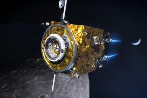Illustration: Gateway's Power & Propulsion element-50-kw SEP. Credit: NASA