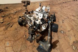 Rover Curiosity Self-Portrait