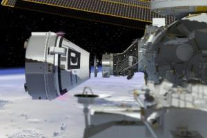 Aug. 22, 2019 - Boeing's Starliner spacecraft brings astronauts to the ISS. ETA TBD.NASA