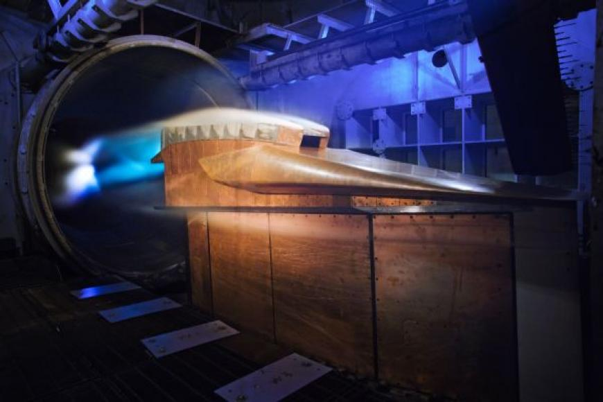 Hypersonic model test in the 8-Foot High Temperature Tunnel at NASA Langley. Jan. 7, 2016,  Credit: NASA